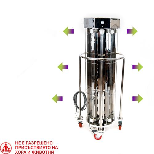 Бактерицидна лампа UVClean HV за дезинфекция на въздуха