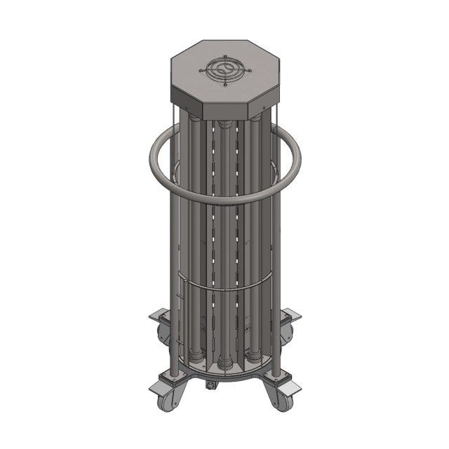Бактерицидна лампа UVClean TOWER за дезинфекция на въздуха