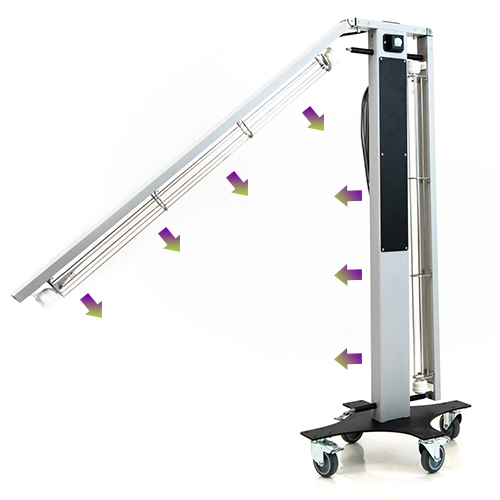 Бактерицидна лампа UVClean ARMS за дезинфекция на въздуха